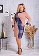 Платье женское модное стильное размер 52-58 купить оптом со склада 7км Одесса, фото 3