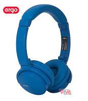 Гарнитура Ergo BT-490 Blue (беспроводные наушники с микрофоном)
