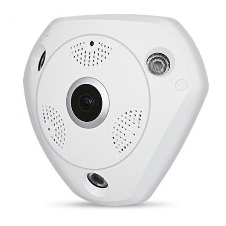 Панорамная IP Камера Видеонаблюдения на потолок CAD 1317 VR CAM 3D Wi-Fi DVR