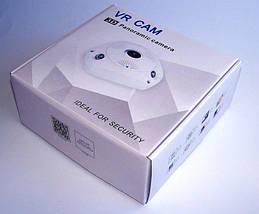 Панорамная IP Камера Видеонаблюдения на потолок CAD 1317 VR CAM 3D Wi-Fi DVR, фото 3