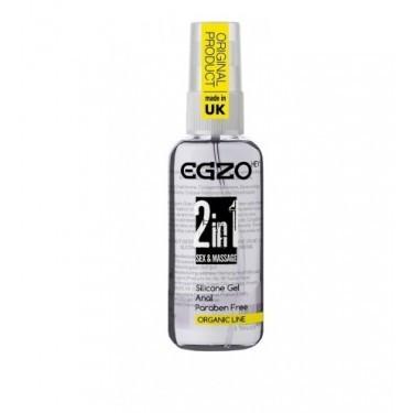 Анальный силиконовый органический лубрикант EGZO 50 мл