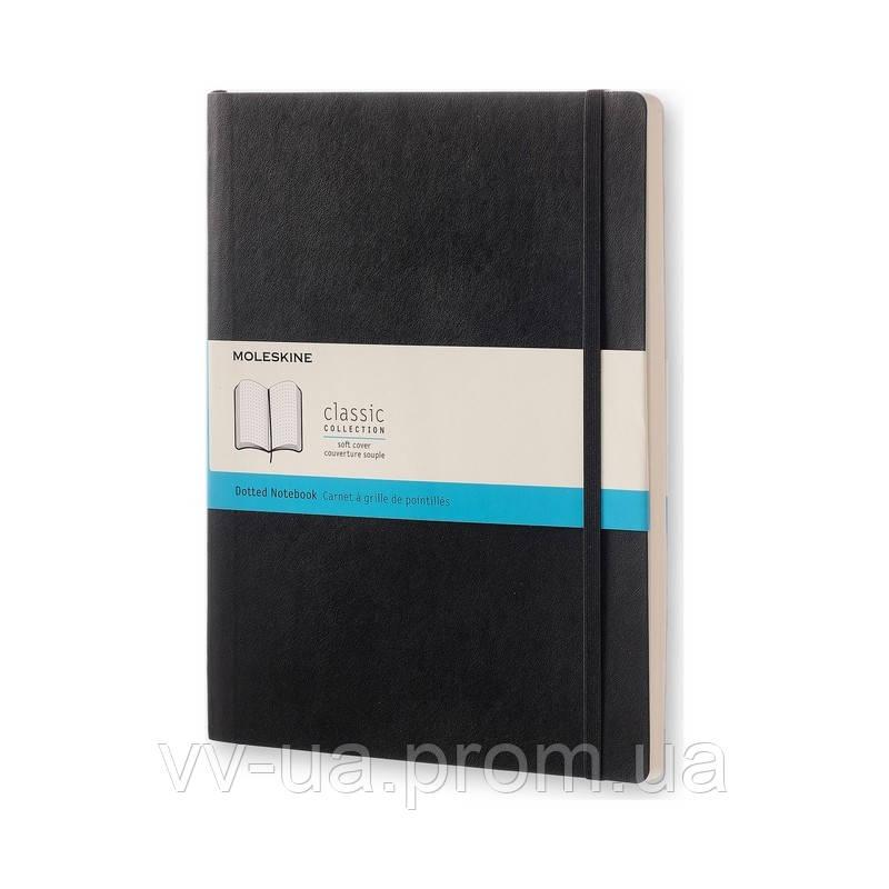 Книга записная Moleskine Classic большая, мягк.обл., черный, точка