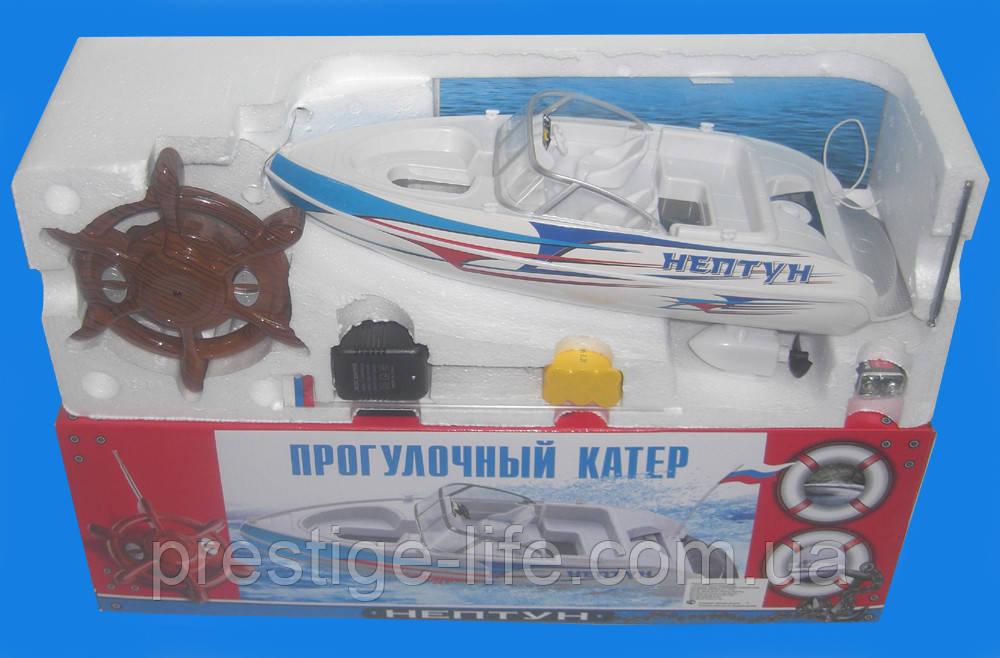 """Радіокерована іграшка катер на Р/У """"Нептун"""" 738A/408596R"""