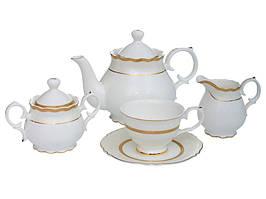 Фарфоровый чайный сервиз на 15 предметов 586-347