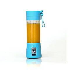 Фитнес-блендер Smart Juice Cup Fruits 380 мл Голубой (6354761)
