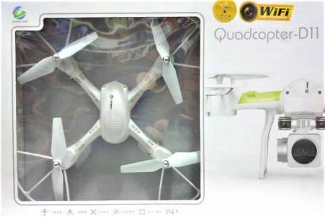 Квадрокоптер Quadcopter D11 WI-FI з можливістю установки камери, фото 2