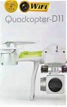 Квадрокоптер Quadcopter D11 WI-FI з можливістю установки камери, фото 3