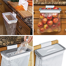 Мусорное ведро Attach-A-Trash   Держатель для мусорных пакетов навесной, фото 3