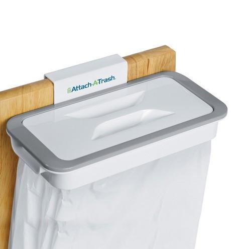 Мусорное ведро Attach-A-Trash   Держатель для мусорных пакетов навесной