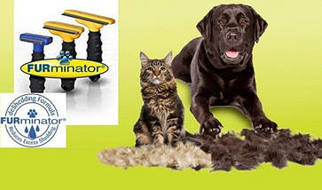 Щітка фурминатор для грумінгу собак і кішок FUBnimroat з лезом 4.5 см, фото 3