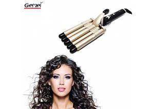 Плойка Волна Gemei GM 2933 | Щипцы для завивки волос, фото 3
