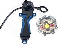 Игровой набор Beyblade волчок B-59s Zillion Zeusi с пусковым устройством и ручкой