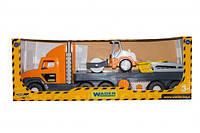 """Набор """"Super Tech Truck"""" с катком 36740"""