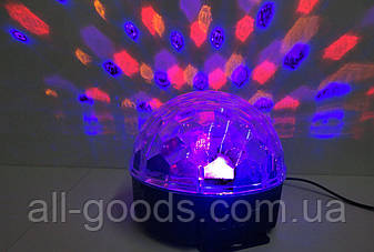Светомузыка диско шар Magic Ball Music с Блютус, фото 2