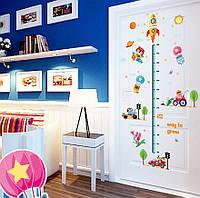 Ростомер, интерьерная наклейка на стену Детская - Ракета