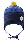 Зимняя шапка-бини для мальчика Reima Ainoa 518538-6981. Размеры 46 и 48., фото 2