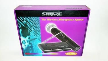 Радиосистема Shure SH200A с ручным радиомикрофоном | Беспроводной микрофон, фото 3