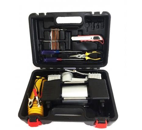 Автомобильный компрессор DA-8822 + комплект инструментов