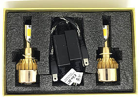 Комплект автомобильных LED ламп C6 H7, фото 3