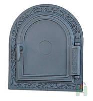 Глухие печные дверцы Н1612 (365x325), фото 1
