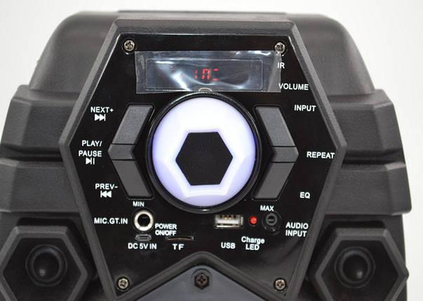 Беспроводная портативная bluetooth колонка - чемодан Q6 | Акустические колонки | Музыкальные колонки, фото 2