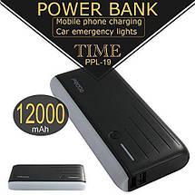 Power Bank Proda Remax 12000 mAh | Повербанк | Зовнішній акумулятор | Портативна батарея, фото 2