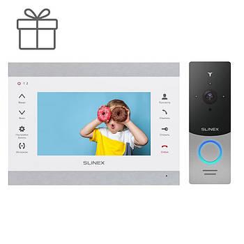 Комплект видеодомофона Slinex SL-07M и вызывная панель Slinex ML-20IP