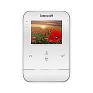 Комплект видеодомофона Intercom IM-11 (white+black), фото 2