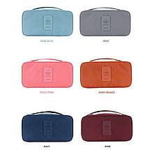 Органайзер для нижнего белья однотонный Gena Travel 01050-02   Дорожная сумка, фото 3