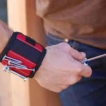 Магнитный браслет со встроенными суперсильными магнитами для крепления винтов, гвоздей, болтов, фото 2