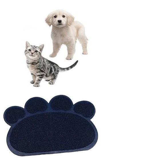 Килимок для собак і кішок Paw Print Litter Mat | Килимок для вихованців