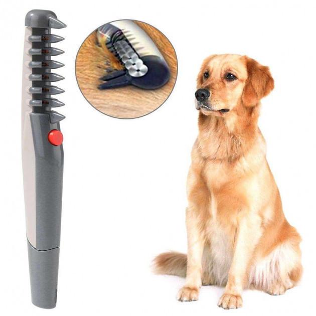 Електрична щітка для вичісування тварин Knot Out   Фурминатор для собак