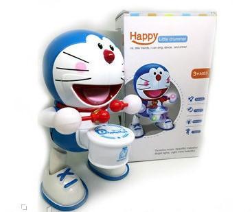 Танцююча іграшка з барабаном Dancing Happy Doraemon