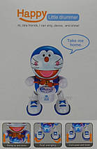 Танцююча іграшка з барабаном Dancing Happy Doraemon, фото 3