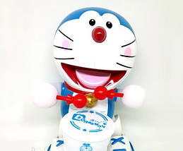 Танцююча іграшка з барабаном Dancing Happy Doraemon, фото 2