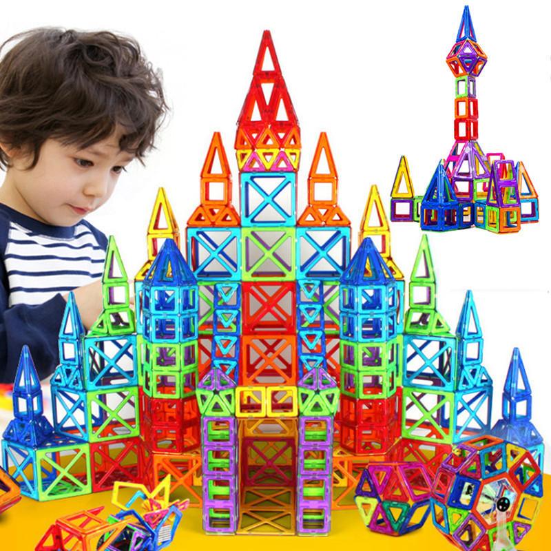 Детский магнитный конструктор Magical Magnet на 72 детали