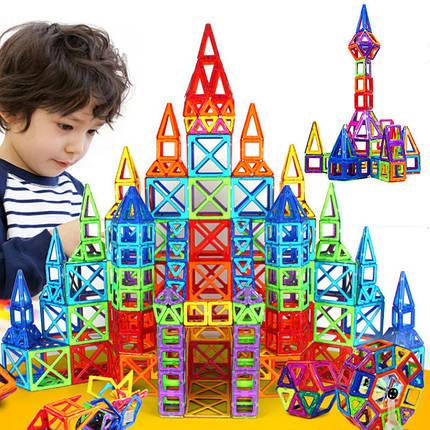 Детский магнитный конструктор Magical Magnet на 72 детали, фото 2