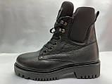 Комфортные зимние ботинки на шнуровке Terra Grande, фото 4