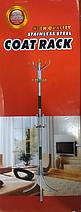 Металева підлогова вішалка стійка для одягу тринога Coat Rack 16 крючков | Вішалка тринога, фото 3