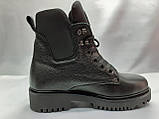 Комфортные зимние ботинки на шнуровке Terra Grande, фото 2