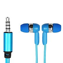 Светящиеся наушники с микрофоном Light Earphone, фото 3