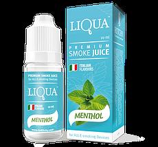 Жидкость для электронных сигарет с никотином Liqua smoke juice Apple 10 ml, фото 2