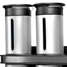 Набор баночек для специй и приправ Zevgo Magnetic Spice Stand из 6 сосудов, фото 3