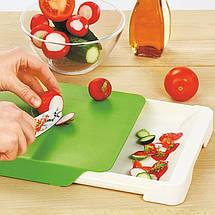 Кухонная разделочная доска с ящиком Cut & Collect, фото 2