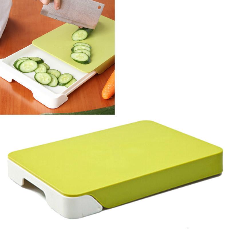 Кухонная разделочная доска с ящиком Cut & Collect