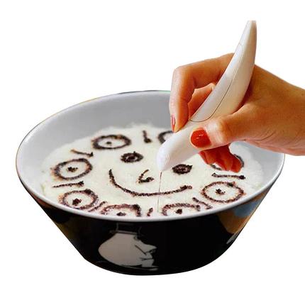 Механічна ручка для декорації каву COFFEE PEN, фото 2