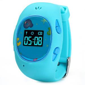 Умные детские часы с GPS-трекером G65 | Умные Смарт Часы | Голубые