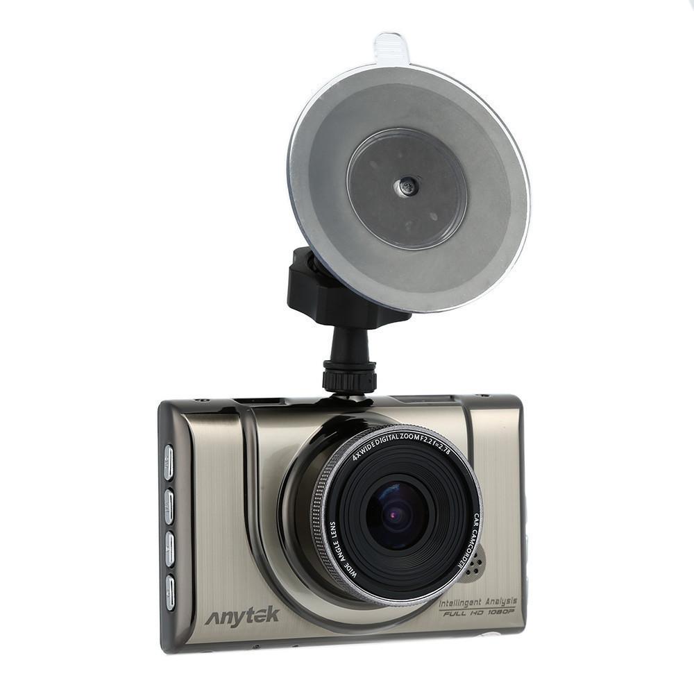 Автомобильный видеорегистратор Anytek A100-H на 2 камеры HDMI | Регистратор в машину
