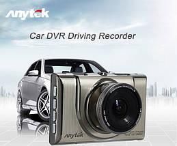 Автомобильный видеорегистратор Anytek A100-H на 2 камеры HDMI | Регистратор в машину, фото 3