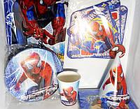 """Набор для оформления дня рождения """"Спайдермен"""" Человек паук (spiderman)"""